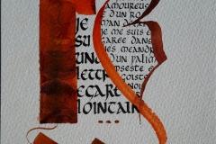 Calligraphie 5/5