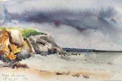 La plage du Kerou