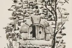 Ruine près de la chapelle Saint Jacques à Clohars Carnoët