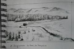La Gaspésie - A l'auberge de Douglastown