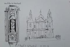 Londres Saint Paul's cathedral