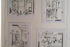 Lisbonne dans un timbre