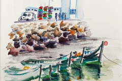 Dans le port de Sidi Ifni