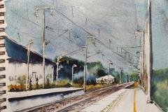La gare de Gestel