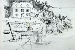 Sketchcrawl à Groix