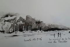 Rivière de la Laïta vue du Pouldu