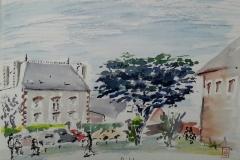 Au Pouldu, chemin Saint Julien