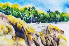 Les rives de La Laïta, à Guidel
