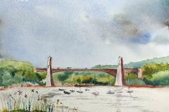 Le pont du Bonhomme depuis Saint Guenael