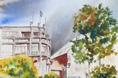 La  mairie de lanester