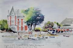 Villa Margaret vue du ponton qui tangue
