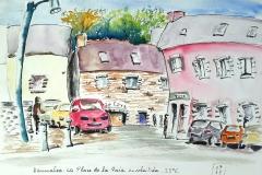 Bannalec, soleil amitié et far breton