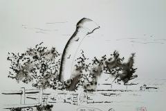 Coup de vent sur Arzano