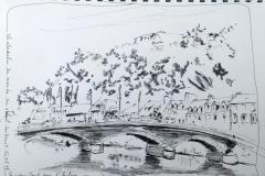 Châteaulin, le vieux pont