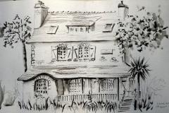 Morgat 63° sketchcrawl 02 - villa la collinette