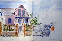 Morgat 63° sketchcrawl 04 - villa la rose des landes