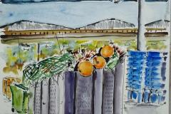 Lorient, le pan coupé à la criée