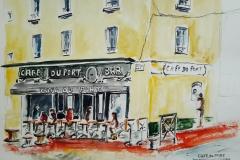 Lorient, le café du Port