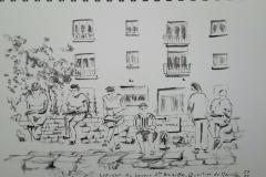 Lorient, les croqueurs lorientais croqués à croquer