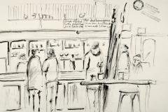 Au café l'Alchimiste, à Lorient. Bar très sympa