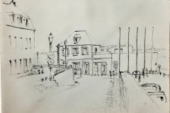 Port Louis, avec les croqueurs de Lorient
