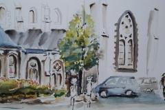 Moëlan, place de l'église