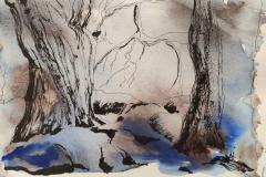 Kermeur Bihan, son allée couverte, ses chênes et ses korrigans