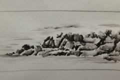 Les rochers du courégant à ploemeur