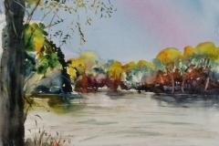 Ploemeur, l'étang de Lannénec