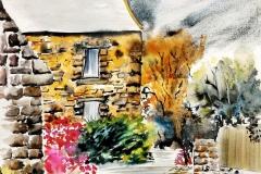 Saint Adrien sur la commune de Ploemeur.