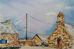 La chapelle saint jude, à ploemeur