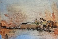 Le fort de Keragan, au Fort Bloqué