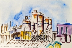 L'usine des Kaolins à Ploemeur