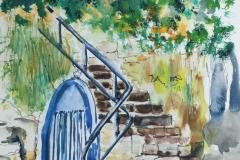 L'annexe au bas de l'escalier au Perello
