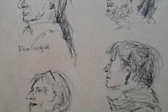 Portraits 2 minutes : Dominique, Marilou, Murielle
