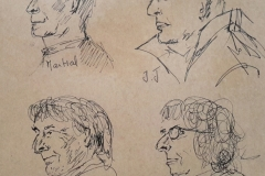 Portraits 2 minutes au Savanah Café : Martial, JJ, Philippe et Sylvie