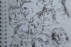 Galerie de portraits 2mn au Savanah Café
