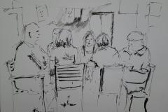 Partie de tarot au Savanah Café