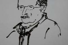 Portrait en 2 minutes de Michel au Savanah Café