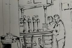 58° sketchcrawl à Lorient. A la taverne du Roi Morvan, un accueil chaleureux