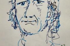 Antoine en séance portrait au Savanah Café à Ploemeur, le mercredi