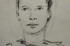 Anaelle au Savanah Café Ploemeur Portrait 12 mn
