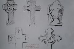 Croix du cimetière St David à Quimperlé
