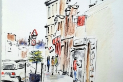 Quimperlé, rue de la Paix