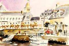 Quimperlé, sur le quai Brizeux