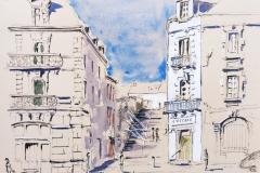 La rue Yolande Moreau à Quimperlé